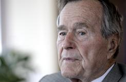 Former president George H.W. Bush is bringing together his administration's key decision-makers to commemorate the 20th anniversary of the start of military operations to liberate Kuwait from occupation by Iraqi dictator Saddam Hussein during an event at Texas A&M University on Thursday.