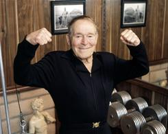 Fitness pioneer Jack LaLanne died Sunday of respiratory failure. He was 96.