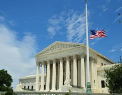 The U.S. Supreme Court, as seen in a 2010 file photo. Justices have ruled that a man may sue a company for retaliation.