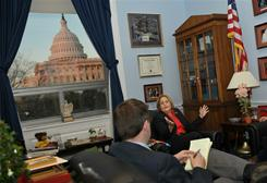 House Foreign Affairs Committee chair Ileana Ros-Lehtinen in her office in the Rayburn House Office Building.