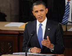 President Obama delivers his second State of the Union address before Congress.