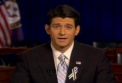  Rep. Paul Ryan, R-Wis., delivers the GOP response to President Obama's State of the Union address Tuesday.