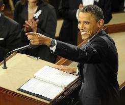 President Obama delivers the State of the Union Address on Tuesday night.