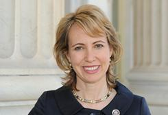 Rep. Gabrielle Giffords, shown in a 2010 photo, will begin a full rehab program now, her doctors announced.