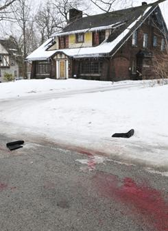 An early morning shooting at a house just north of the Youngstown State University campus left student Jamail E. Johnson, 25 of Youngstown, dead and 11 injured, In Youngstown, Ohio Sunday.
