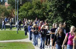 More incoming college freshmen have abstained from alcohol, polls find.
