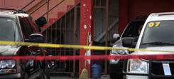 Three teenage boys were shot to death at this car dealership in the northern border city of Ciudad Juarez.