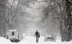 Snow covers Tulsa streets on Jan. 30. Another storm could dump more snow on the city.