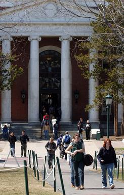 The University of Vermont's increasing enrollment in the past 10 years pushed Burlington's population over 40,000 for the first time.
