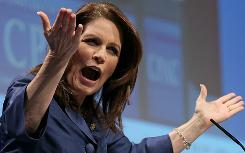Rep. Michele Bachmann, R-Minn., kicks off the Conservative Political Action Conference on Thursday.