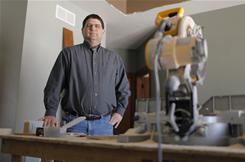 Jim Reif, president of Jim Reif Builders in Manitowoc, Wis., used to build 10 to15 large custom homes a year. Last year, he built one.