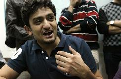 Wael Ghonim was held by the state security service for 12 days for his role in Egypt's uprising.