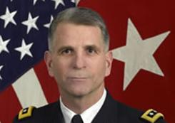 Lt. Gen. Michael L. Oates said troops are making progress against enemy IED use in Afghanistan.