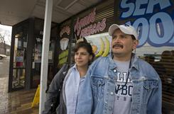 Raul Silva and his wife, Diana Selestino, moved to Pasadena, Texas, 12 years ago.