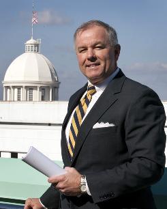 Alabama State Rep. Greg Wren, R-Montgomery, outside the Alabama Statehouse in Montgomery on Jan. 12.