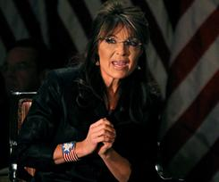 "Former vice presidential candidate Sarah Palin addressed union members in a Facebook posting on Friday. She said solidarity entails ""everyone being willing to sacrifice."""