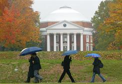 The University of Virginia at Charlottesville is at the top of The Princeton Review's list of best buys for public colleges.