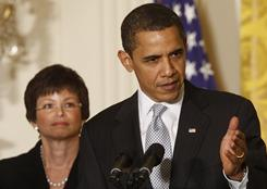 White House senior adviser Valerie Jarrett is President Obama's emissary to the business community.