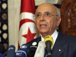 Tunisian Prime Minister Mohammed Ghannouchi announced his resignation after a renewed outbreak of street violence in the North African country in the last few days.