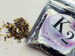 K2, a smokable herbal product marketed as legal, fake pot, became popular with teens and college students in 2009, the DEA says.