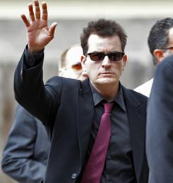Charlie Sheen told 'Access Hollywood' that he and actor friend Sean Penn are planning a trip to Haiti.