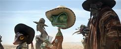 Some anti-smoking groups warn that the frequency of smoking in 'Rango' may pose risks to children.