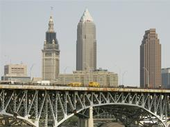 Cleveland, among Ohio's top metro areas, saw a drastic population decline in the last decade.