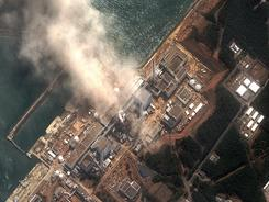 The earthquake and tsunami damaged Fukushima Daiichi nuclear plant on Monday was damaged by a hydrogen explosion.