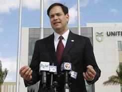 """We simply can no longer afford to nickel-and-dime our way out of the dangerous debt,"" Sen. Marco Rubio said."