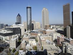 Atlanta's population slowed over the last 10 years with the city adding only 1% as people fled to the suburbs, according to census data released Thursday.