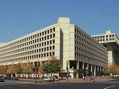The J. Edgar Hoover FBI building in Washington, D.C.