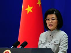 Foreign Ministry spokeswoman Jiang Yu reiterates China's opposition to the use of force in Libya as the U.S. and allied air assault continues against Moammar Gadhafi's forces.