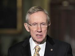 Sen. Harry Reid and three other lawmakers raised concerns that apps that identify drunken-driving checkpoints could put lives at risk.