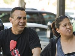 A family in Santa Ana, Calif. Surging Latino and Asian populations accounted for virtually all of the state's population growth over the last decade.