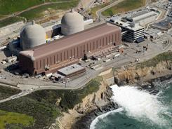 Aerial view of the Diablo Canyon Nuclear Power Plant, which sits on the edge of the Pacific Ocean at Avila Beach in San Luis Obispo County, Calif.