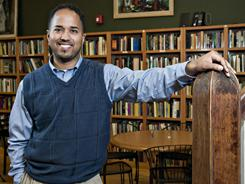 Victor Diaz, a Dominican American, is president of the greater Waterbury, Conn., chapter of the NAACP.