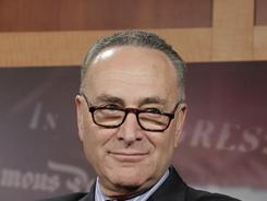 Sen. Charles Schumer, D-N.Y., says House Speaker John Boehner has caved to the Tea Party.