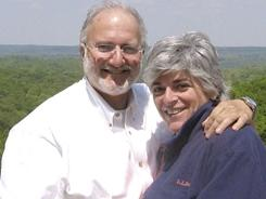 Family photo shows contractor Alan Gross and his wife, Judy.
