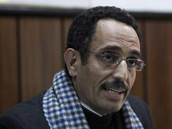 Abdel-Hafidh Ghoga, a top official of Libyan rebel forces, said his movement wants to install a parliamentary democracy.