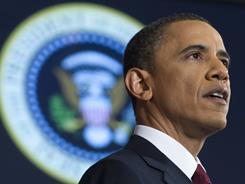 President Obama announced his re-election bid for a second presidential term.