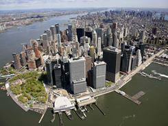 The 2010 Census put New York City's population at 8.2 million people, down from 8.4 million in 2009.
