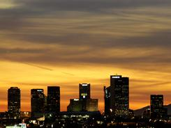 Phoenix's growth slowed dramatically during the past decade.