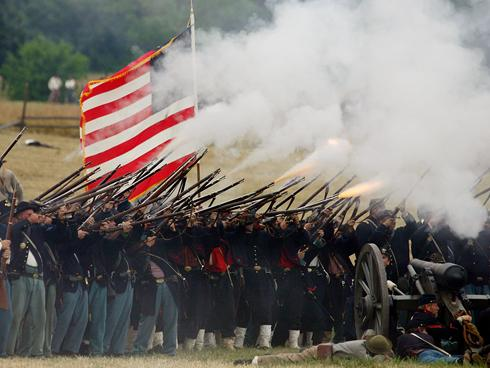 Civil War re-enactors have a busy season coming