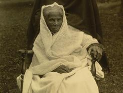 Harriet Tubman, in this photo from around 1911, was an abolitionist, humanitarian and Union spy during the American Civil War. She helped free hundreds of slaves.