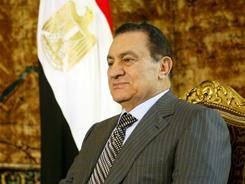 "Former Egyptian President Hosni Mubarak says his family is still hurt from ""unjust campaigns and false allegations that aim to smear his reputation."""