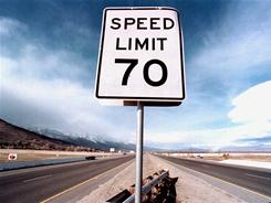 The Kansas Legislature on April 1 raised the limit to 75 mph on more than 1,000 miles of roads. The measure awaits Republican Gov. Sam Brownback's signature.