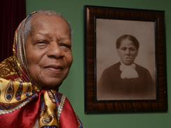 Pauline Johnson, 83, at the Harriet Tubman Home in Auburn, N.Y., says she didn't learn she was the great-grandniece of the Underground Railroad conductor until she was 25.