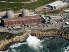Aerial view of the Diablo Canyon Nuclear Power Plant, which sits on the edge of the Pacific Ocean at Avila Beach in San Luis Obispo County, Calif. It is an at-risk reactor like those in Japan.