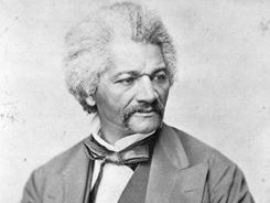 Frederick Douglass taught himself to read and write.
