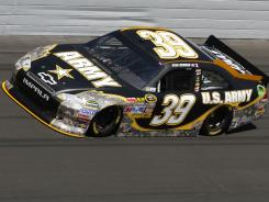 Sponsored by the Army: $7 million for NASCAR race car No. 39.